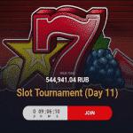 5 Plus Bet presents: Slot Tournament - Day 11