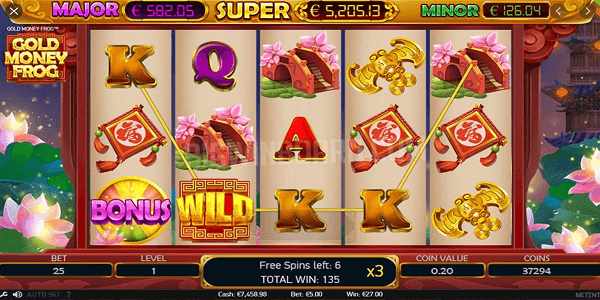Gold Money Frog Netent Slot