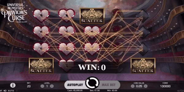 The Phantom's Curse Netent Slot