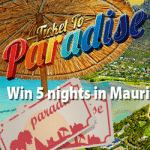 Win 5 nights in Mauritius with the BGO casino
