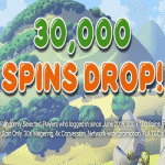 30,000 Spins Drop - today at casino Black Spins