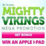 CasinoLuck Mega Promotion - Mighty Vikings