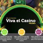 Viva el Casino plus Free Spins from CasinoLuck