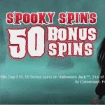 50 Spins on Halloween Jack at Egypt Slots