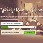 Weekly Roaring Races by Joreels Casino
