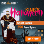 King's Halloween at online casino King Billy
