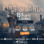 King Billy Exclusive: 151% Bonus + 51 Free Spins