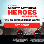 Mighty Mythical Heroes - promotion by NextCasino