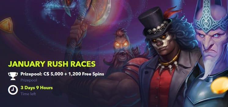 NightRush Casino Promotion