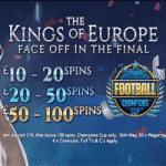 Bonus Spins on Football: Champions Cup from Planet Fruity