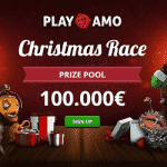 €100,000 Christmas Race at PlayAmo casino