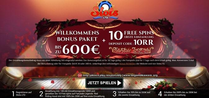 Slots Ltd Casino Promotion