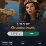 Cleopatra Jewels - online tournament by Vbet