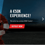Win a €50K Experience with the Vegas Hero casino